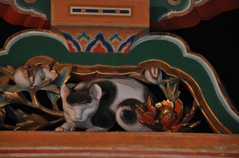 眠り猫、日光東照宮