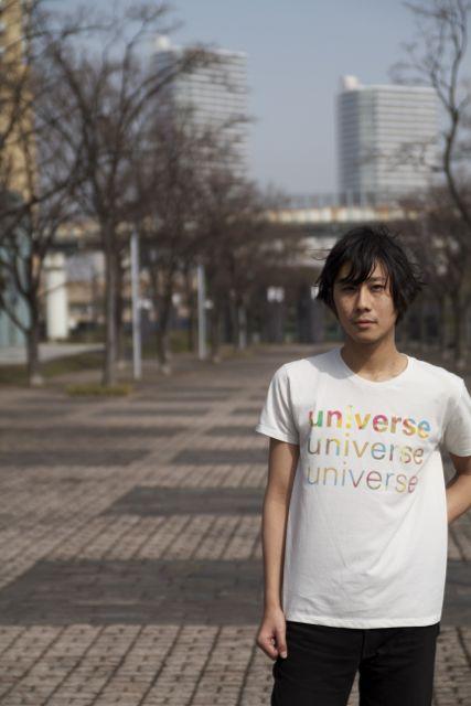 フォント universe Tシャツ